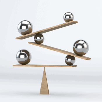 Balance with multiple moving parts